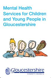 Gloucestershire Mental Health Support Services for Children and Young People